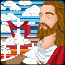 Bible Color By Number : Bible Coloring Book Free 20.2 APK Download