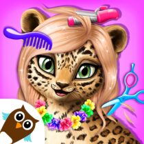 Jungle Animal Hair Salon – Styling Game for Kids  4.0.10061 APK MODs (Unlimited Money) Download