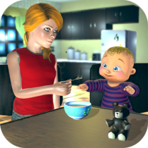 Real Mother Baby Games 3D: Virtual Family Sim 2019 1.0.6 APK Download