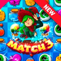 The Apprentice Witch – Puzzle Match 3 Game 3 APK Download