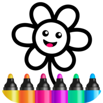 Toddler Drawing Academy🎓 Coloring Games for Kids 1.4.3.2  APK Download