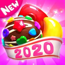 Crazy Candy Bomb Sweet match 3 game  4.7.1 APK MODs (Unlimited Money) Download