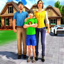 Happy Family Life Dad Mom – Virtual Housewife Care 1.1 APK Download