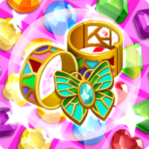 Jewel Witch Best Funny Three Match Puzzle Game  1.10.0 APK MODs (Unlimited Money) Download