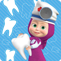 Masha and the Bear Free Dentist Games for Kids  1.3.6APK MODs (Unlimited Money) Download