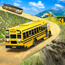 Offroad School Bus Driving: Flying Bus Games 2020  1.48 APK MODs (Unlimited Money) Download