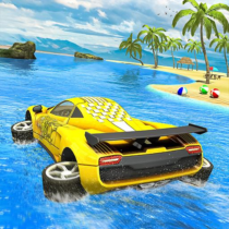 Water Surfer car Floating Beach Drive 1.17 APK Download