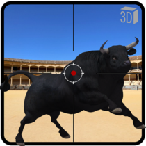 Angry Bull Attack Shooting  802.0APK MODs (Unlimited Money) Download