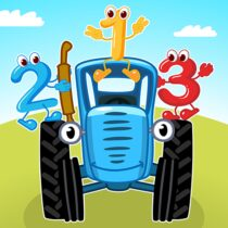 Blue Tractor Games for Toddlers 2 Years Old! Pre K 1.1.4 APK Download