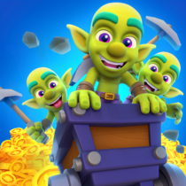 Gold and Goblins: Idle Merger & Mining Simulator  1.8.0 APK MODs (Unlimited Money) Download
