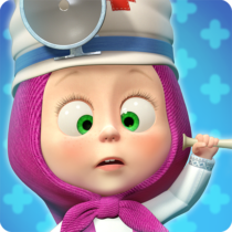 Masha and the Bear: Free Animal Games for Kids  4.0.8 APK MODs (Unlimited Money) Download