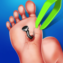 Foot Surgery Doctor Care:Free Offline Doctor Games  1.4.5 APK MODs (Unlimited Money) Download