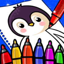 Happy Coloring Book Learn Paint : Coloring Games 0.13 APK Download
