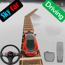 Sky Car Driving Stunt Impossible Track 1.10 APK Download
