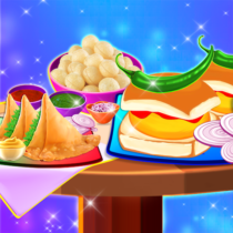Yummy! Famous Indian Street Food Cooking Game  APK MODs (Unlimited Money) Download