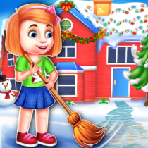 Christmas House Cleaning Game  APK MODs (Unlimited Money) Download