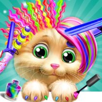 Pet Kitty Hair Salon Hairstyle Makeover  APK MODs (Unlimited Money) Download