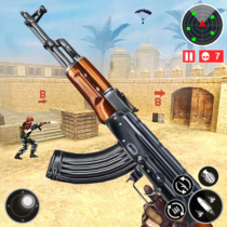 Army Shooting Games 2021-FPS Multiplayer Gun Games  APK MODs (Unlimited Money) Download