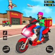 Pizza Delivery: Boy & Girl Bike Game  APK MODs (Unlimited Money) Download