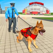 Police Dog Football Stadium Crime Chase Game  APK MODs (Unlimited Money) Download