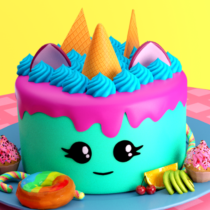 🎂 Cake maker – Unicorn Cooking Games for Girls 🌈  APK MODs (Unlimited Money) Download